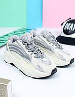 Жіночі кросівки Adidas Yeezy 700, Репліка, фото 1