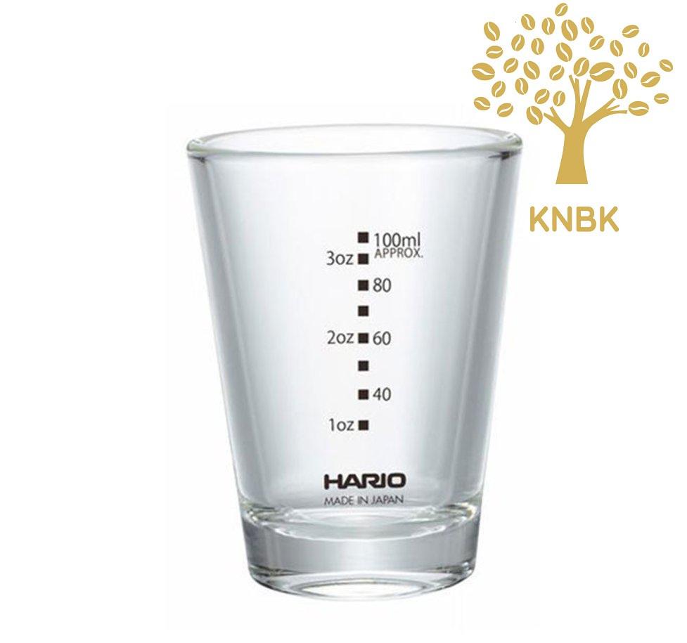 Мерный стакан Hario для приготовление кофе (эспрессо шот)