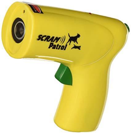 Мощный ультразвуковой отпугиватель собак и котов Ultrasonic Animal Chaser Yellow
