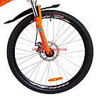 Складной велосипед Formula Hummer DD 26 дюймов оранжево-бирюзовый, фото 3