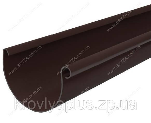 Водосточная система BRYZA 150 желоб коричневый , фото 2