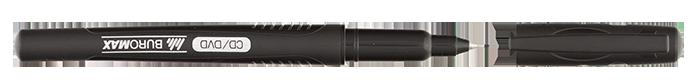 Маркер водостійкий тонкопишучий, чорний, 0.5 мм