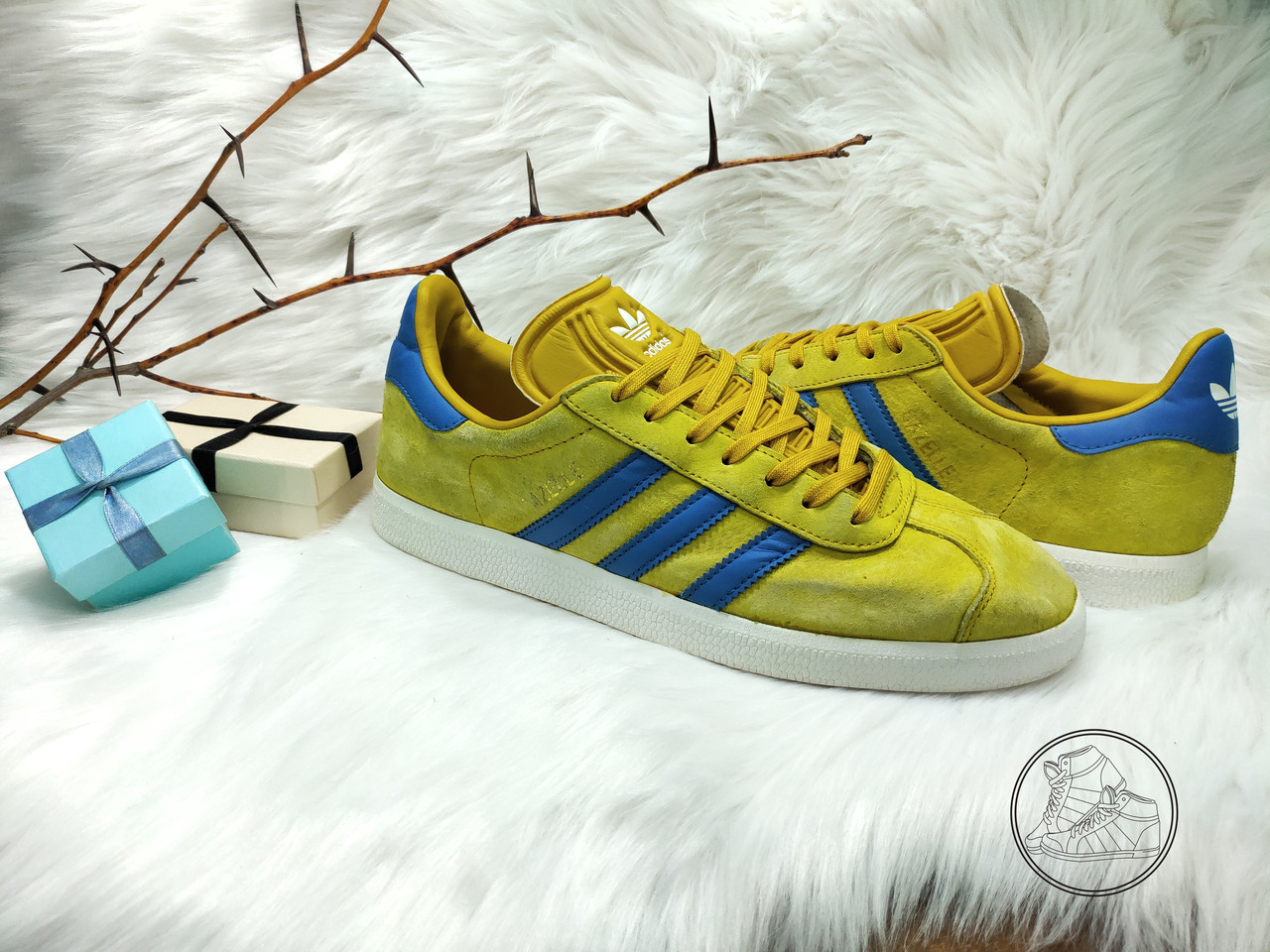 Женские кроссовки Adidas Gazelle (38.5 размер) бу