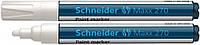 Маркер для декоративних та промислових робіт Schneider MAXX 270 білий