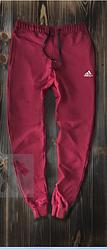 Чоловічі спортивні штани червоні Adidas топ репліка