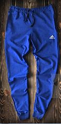 Чоловічі спортивні штани яскраво-сині Adidas топ репліка