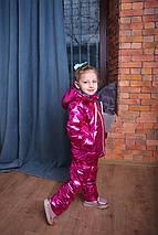 Демисезонный детский комбинезон с курткой для девочки Костюм на девочку  Новинка 2019 ТОП , фото 3