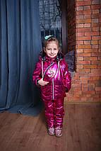 Демисезонный детский комбинезон с курткой для девочки Костюм на девочку  Новинка 2019 ТОП , фото 2