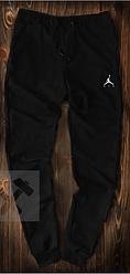 Чоловічі спортивні штани Jordan чорного кольору топ-репліка