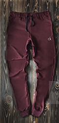 Чоловічі спортивні штани бордового кольору