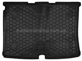 Резиновый коврик багажника Fiat Qubo 2008- Avto-Gumm