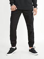 Чоловічі штани-карго Urban Planet - NAVY BLK, фото 1