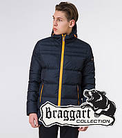 Куртка зимняя подростковая Braggart Youth - 71293 темно-синяя