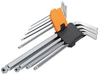Комплект шестигранных ключей 9 шт 1.5-10 мм Tolsen (20053)