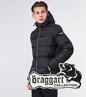 Куртка зимняя подростковая Braggart Youth - 71293 черная