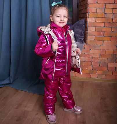 Детский полукомбинезон, куртка, жилетка и полукомбинезон, фото 2