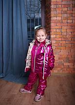 Костюм Комплект куртка, полукомбинезон, жилет и сумка в подарок Новинка 2019 + ПОДАРОК, фото 2