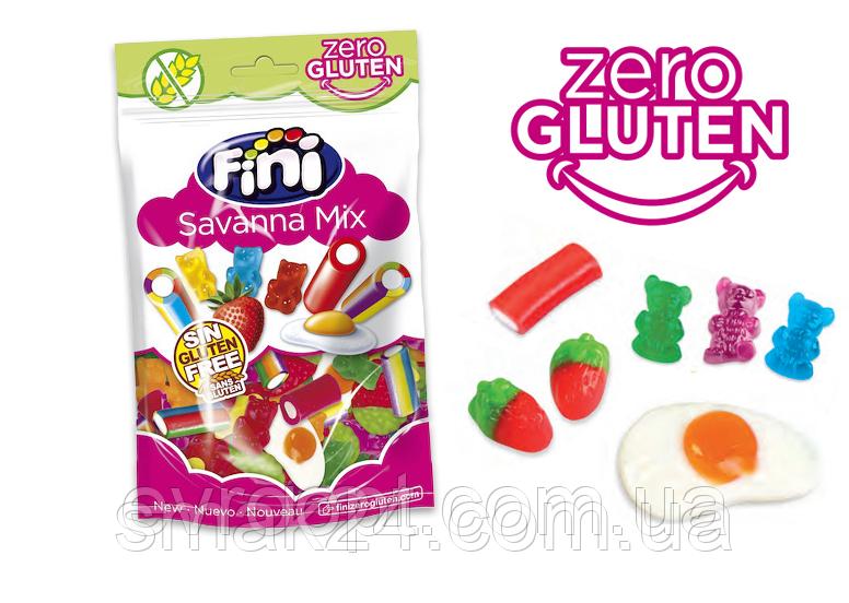Желейные конфеты  без глютена Savanna Mix  ()  Fini  Испания 180г