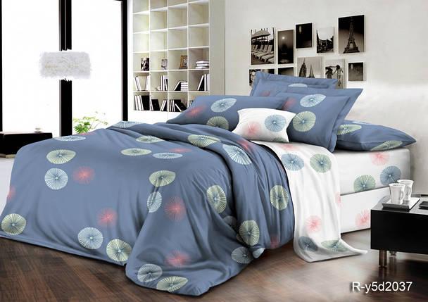 Постельное белье Гелиос ранфорс  ТМ Комфорт-Текстиль (Евро), фото 2