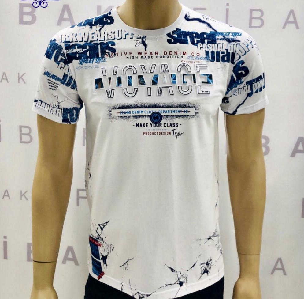Мужская стрейчевая футболка производитель Турция