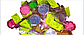 Блестки кондитерские  5 г розовые глитер, фото 2