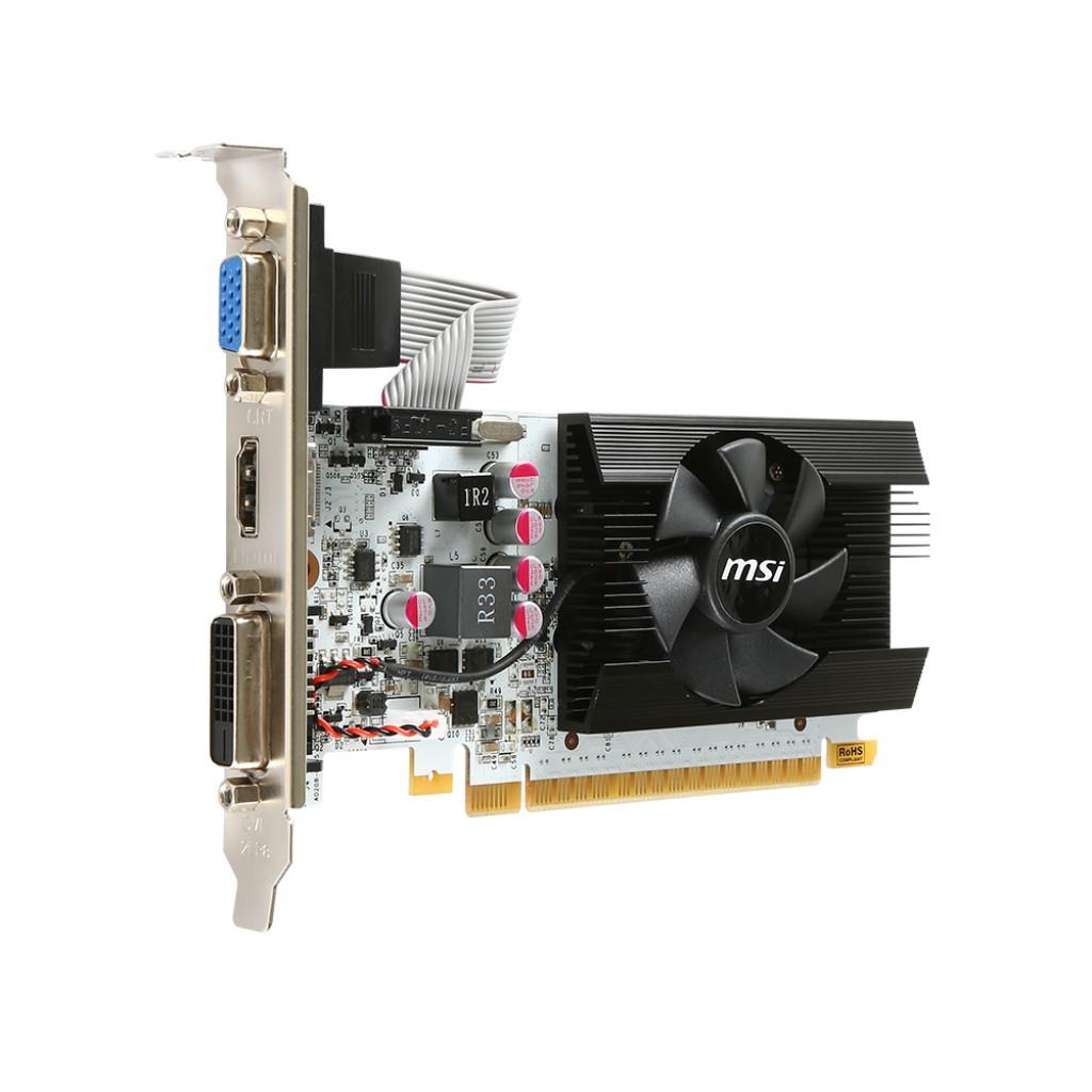 "Видеокарта MSI GeForce GT730 N730K-1GD5LP/OCV1 ""Over-Stock"" Б/У"