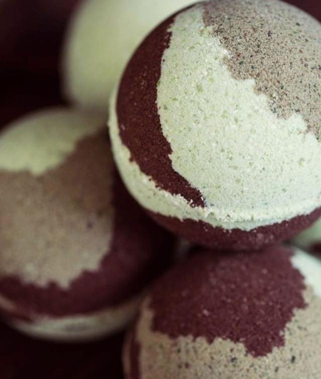 бомбочки для ванной шарики шипучки шоколад