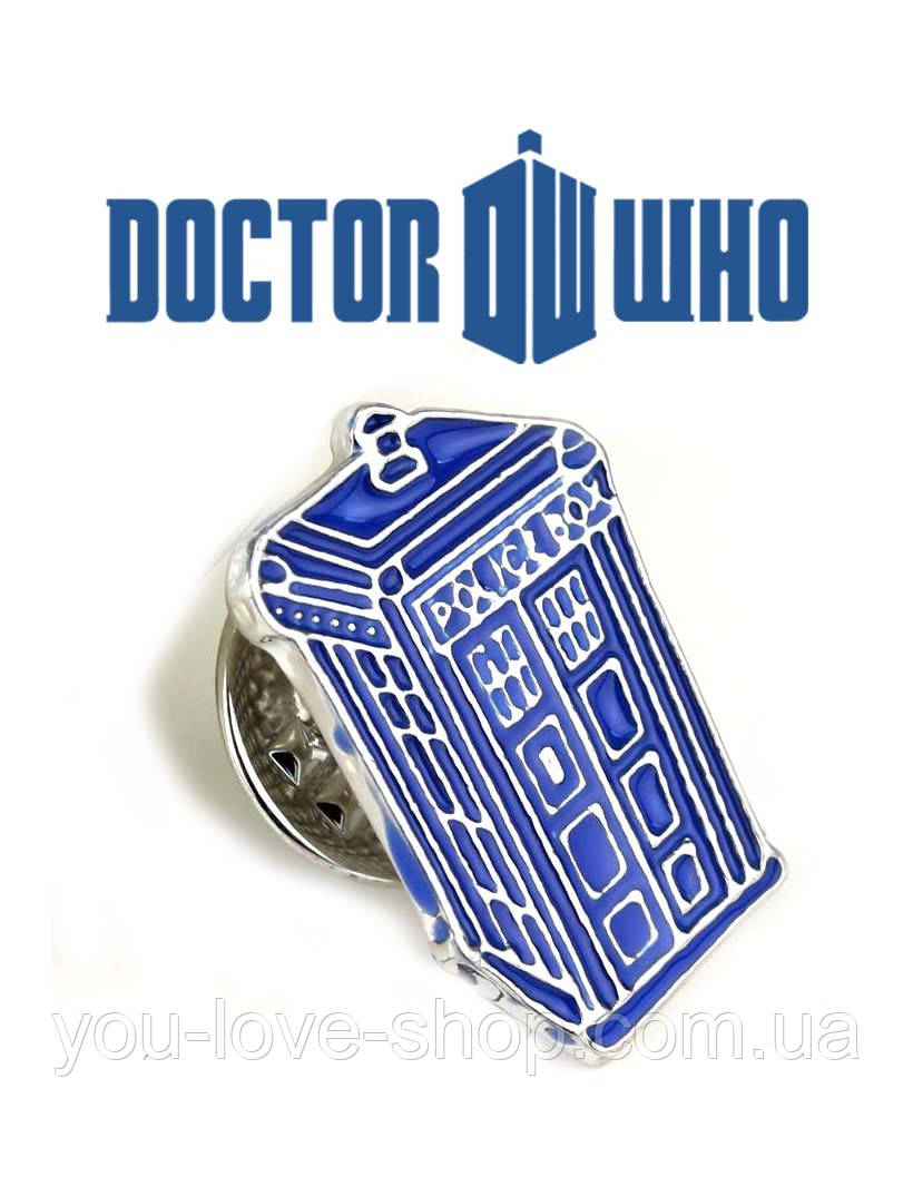 Брошь пин значок Доктор Кто Doctor Who