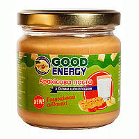 Арахисовая паста с белым шоколадом Good Energy 180 гр