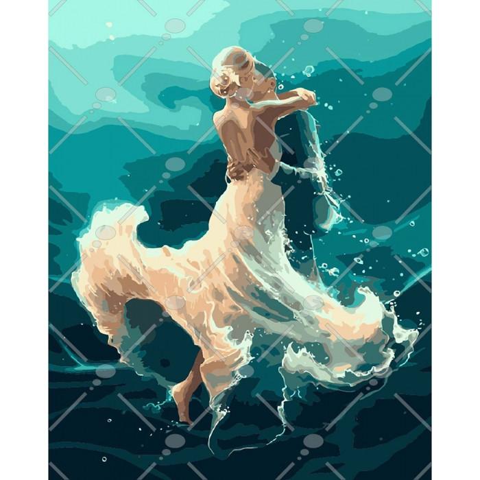 Картина по номерам На хвилі танцю, 40x50 см., Идейка