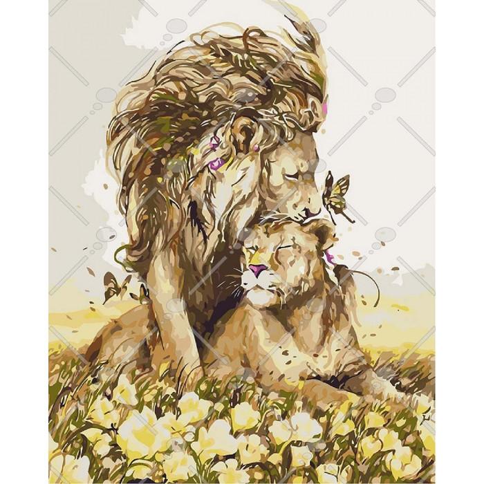 Картина по номерам Романтичні почуття, 40x50 см., Идейка