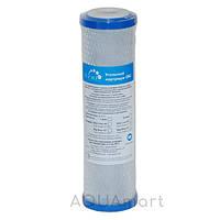 Картридж угольный брикет Гейзер CBC-10SL(Ag) серебро