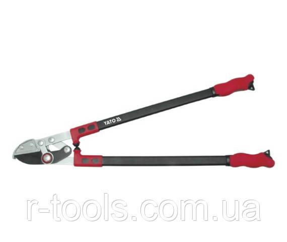 Сучкорез c наковальней и  ручками усиленного профиля 780 мм Yato YT-8836