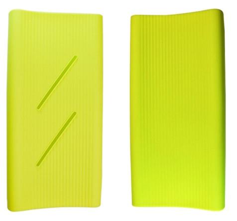 Силиконовый чехол Xiaomi Mi Power Bank 2C 20000mAh green (SPCCXM20G)