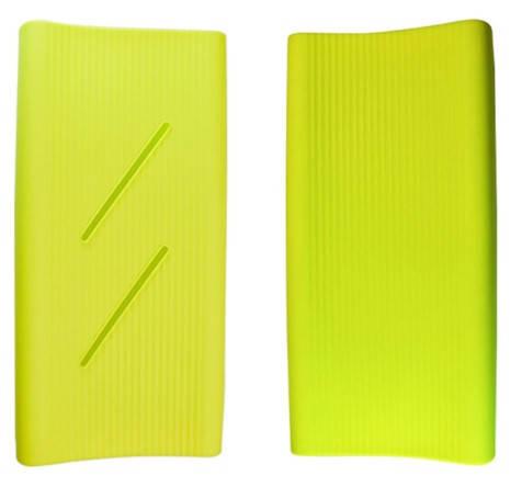Силиконовый чехол Xiaomi Mi Power Bank 2C 20000mAh green (SPCCXM20G), фото 2