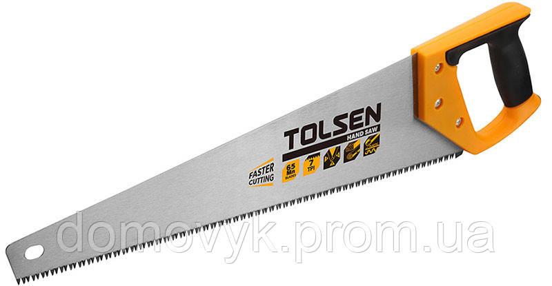 Пила по дереву 450 мм 7 з/д Tolsen (31071)