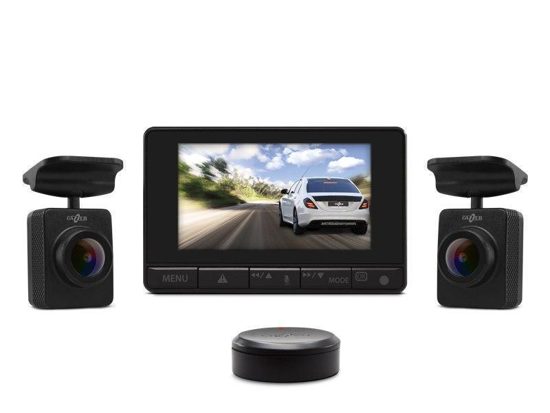 Видеорегистратор Gazer F750-FF (с двумя FishEye камерами в комплекте)