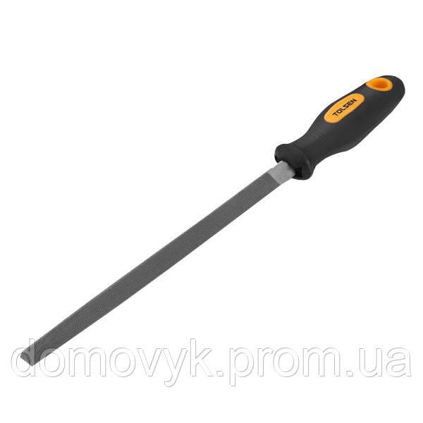 Напильник слесарный треугольный 200 мм №2 Tolsen (32013)