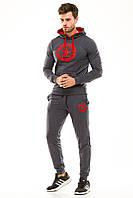 Спортивный мужской костюм с капюшоном