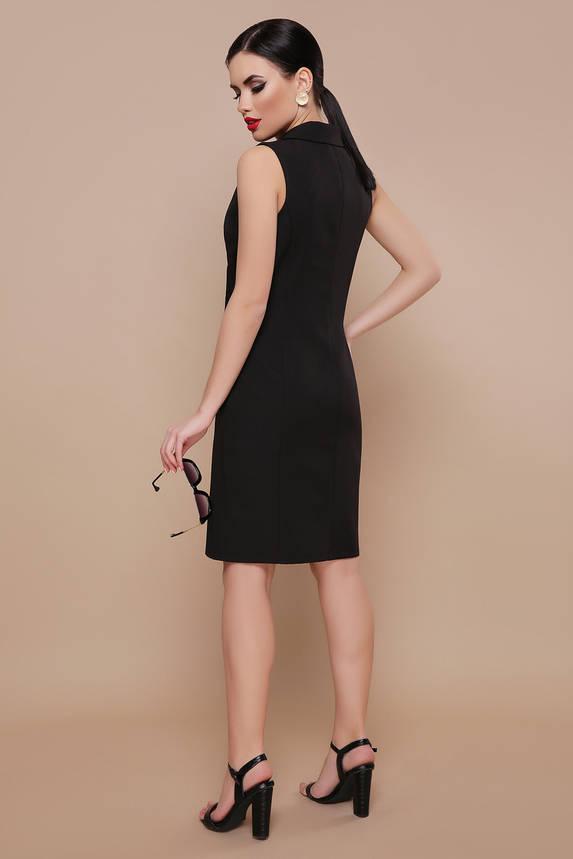 Черное платье жилет миди, фото 2