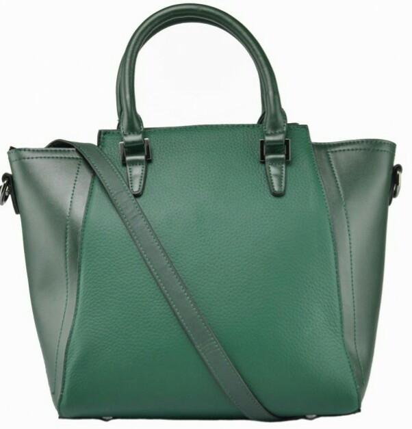 c2e6e032456d Женская сумка L.D NWB23-6009GR, кожаная, зеленая — только ...
