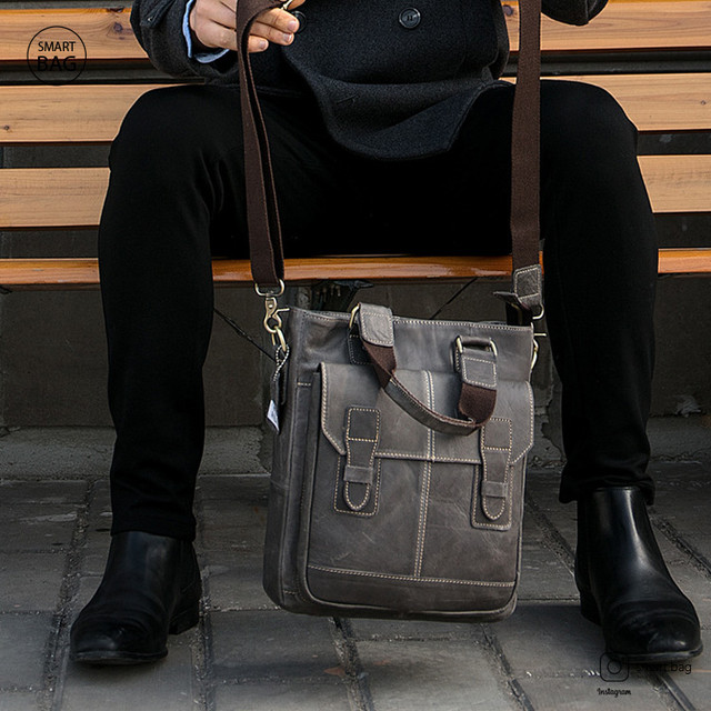 Мужская повседневная кожаная сумка Marrant