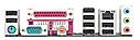 """Материнская плата GIGABYTE GA-770T-D3L AM3 DDR3 """"Over-Stock"""" Б/У , фото 2"""