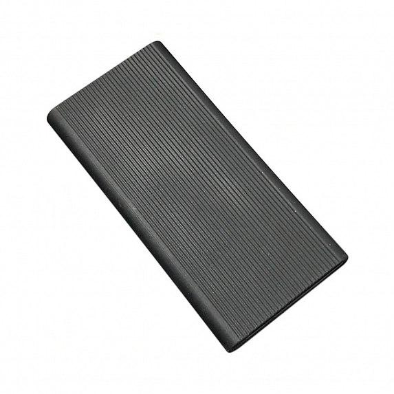 Силиконовый чехол Xiaomi Mi Power Bank 2 10000mAh black (SPCCXM10B)
