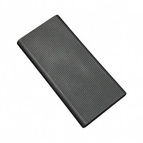 Силиконовый чехол Xiaomi Mi Power Bank 2 10000mAh black (SPCCXM10B), фото 2