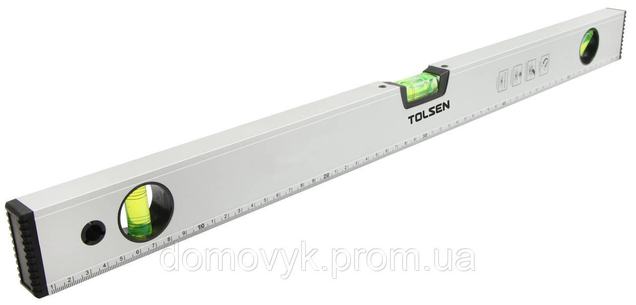 Уровень 80 см 3 капсулы, с магнитами Tolsen (35105)