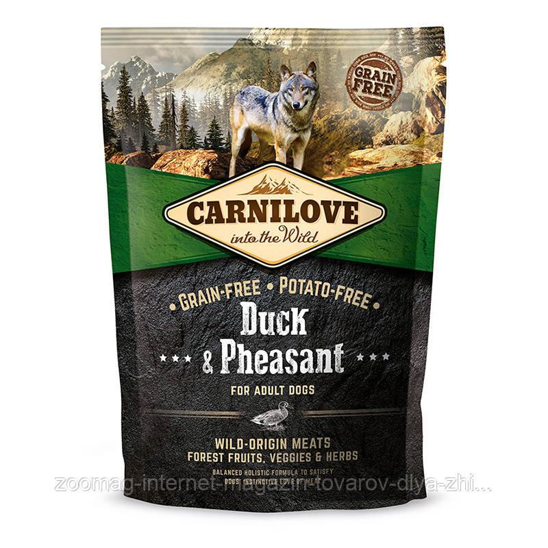 "Сухой корм Carnilove Dog Adult Duck & Pheasant ""Утка и фазан"" 37/18 (для взрослых собак), 1.5 кг"