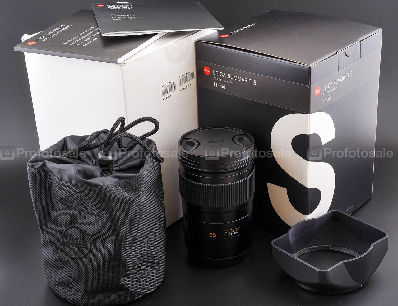 Leica Summarit-S 35mm f2.5 ASPH #11064