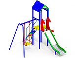 Спортивно игровая уличная площадка для малышей I107, фото 2