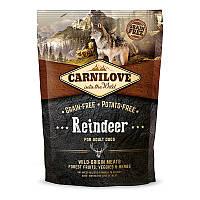 """Сухой корм Carnilove Dog Adult Raindeer """"С мясом северного оленя"""" 38/18 (для взрослых собак), 1.5 кг"""